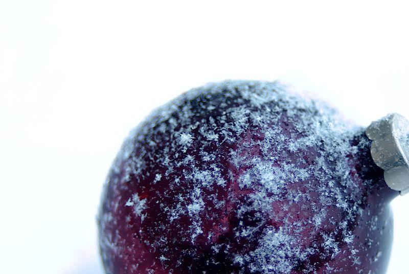 Snowy ornament  168